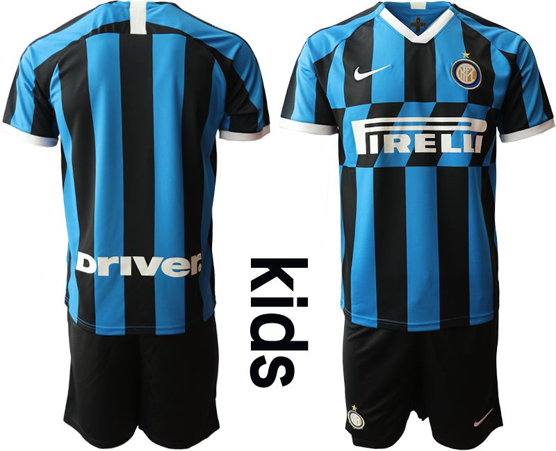 Youth 2019-2020 club Inter milan home blue Soccer Jerseys