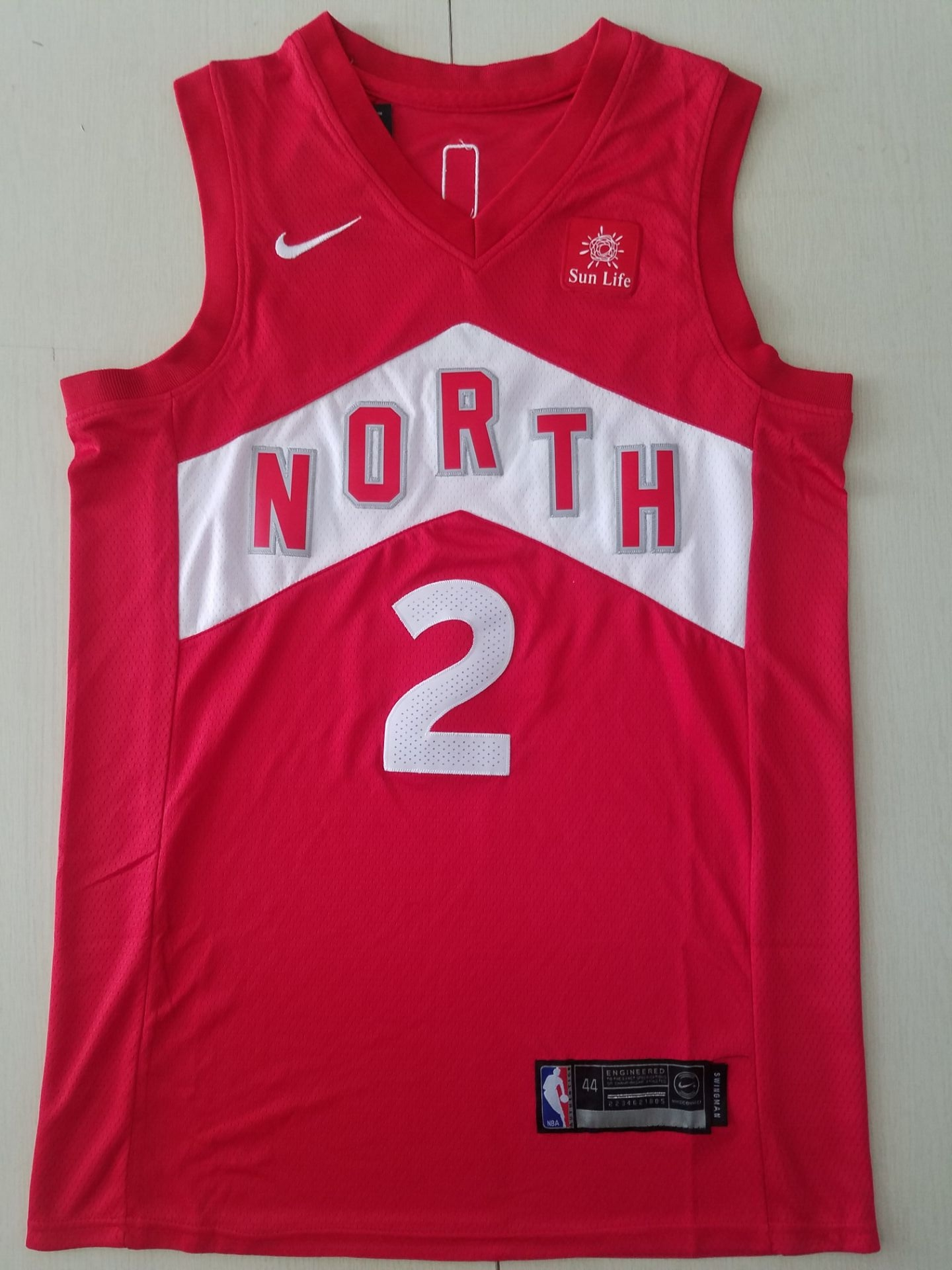 2019 Youth Toronto Raptors 2 Leonard Red Game Nike NBA Jerseys 2