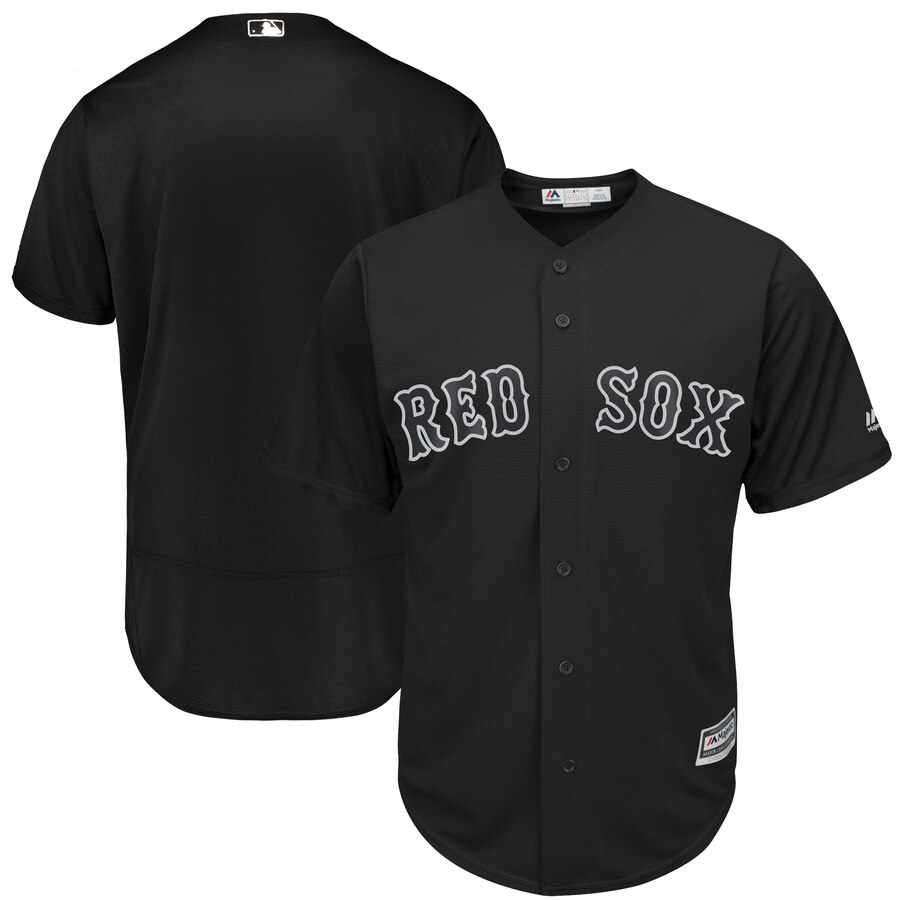 Customized Men Boston Red Sox Blank MLB Jerseys