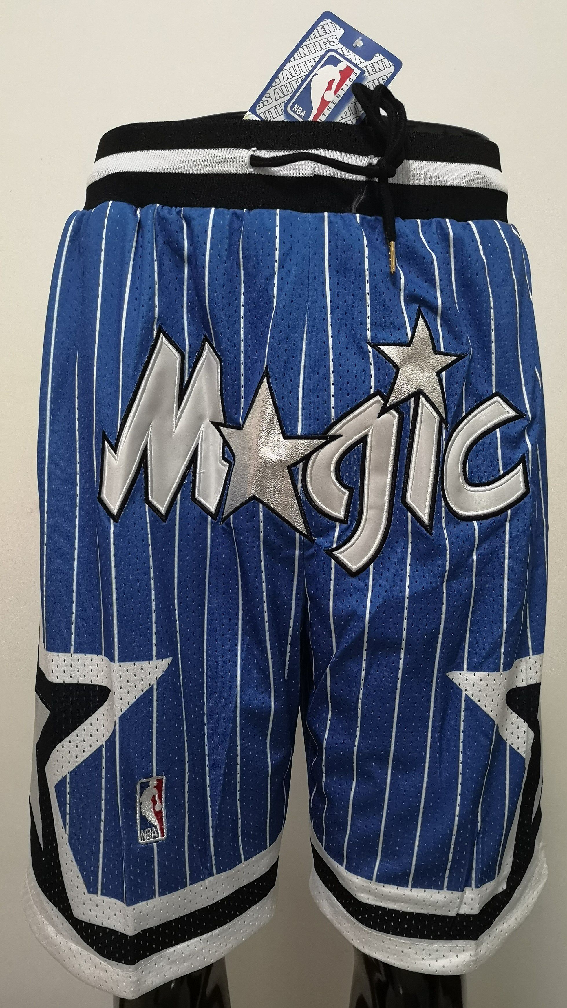 Men 2019 NBA Nike Orlando Magic blue shorts