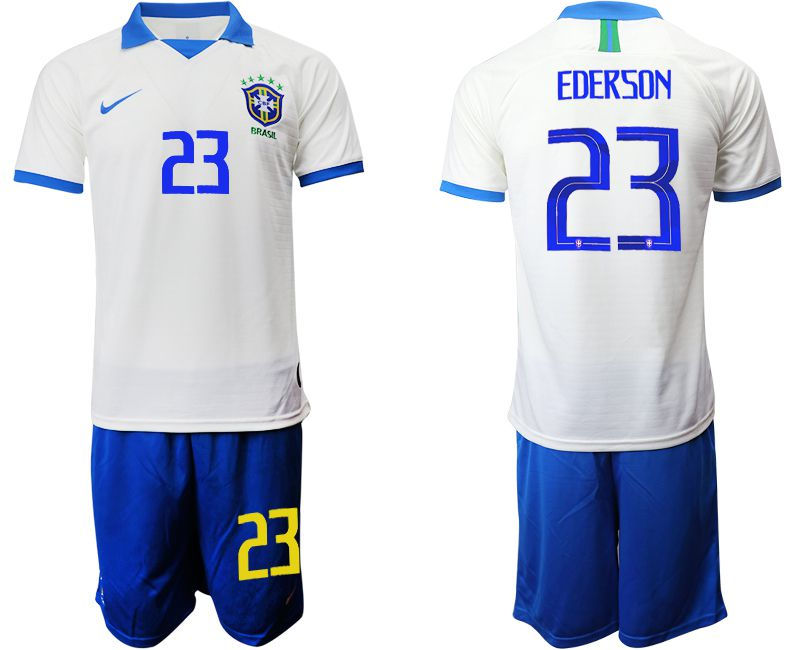 Men 2019-2020 Season National Team Brazil white special edition 23 Soccer Jerseys
