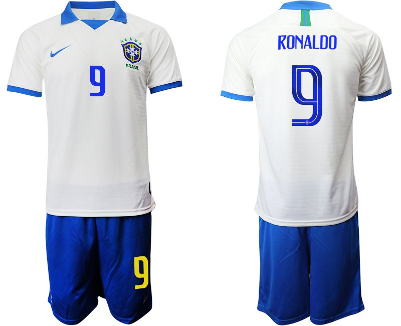 Men 2019-2020 Season National Team Brazil white special edition 9 Soccer Jerseys1
