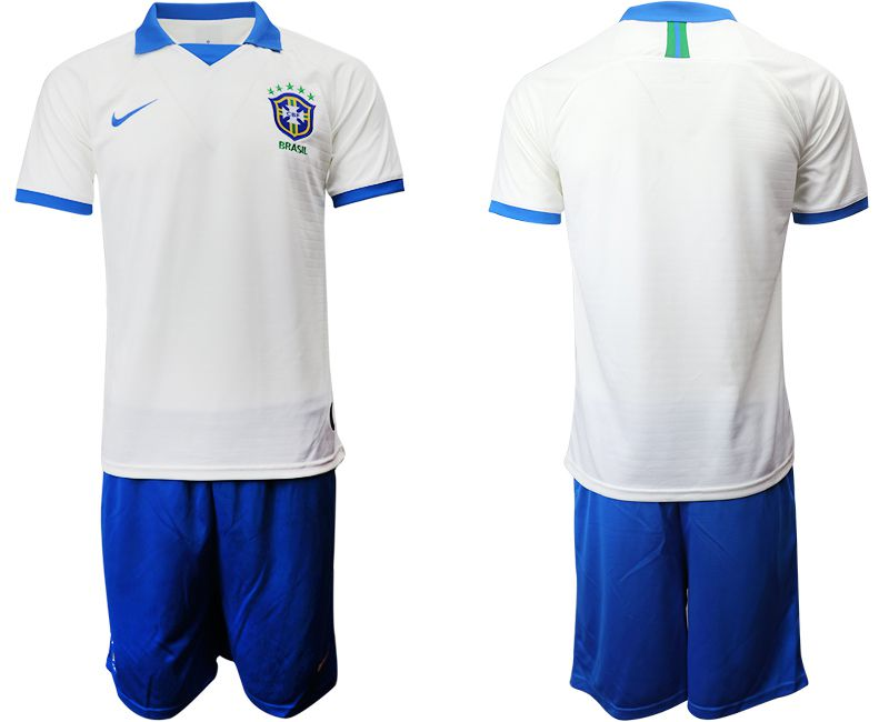 Men 2019-2020 Season National Team Brazil white special edition Soccer Jerseys