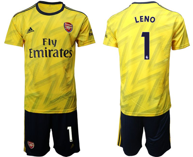 Men 2019-2020 club Arsenal away 1 yellow Soccer Jerseys