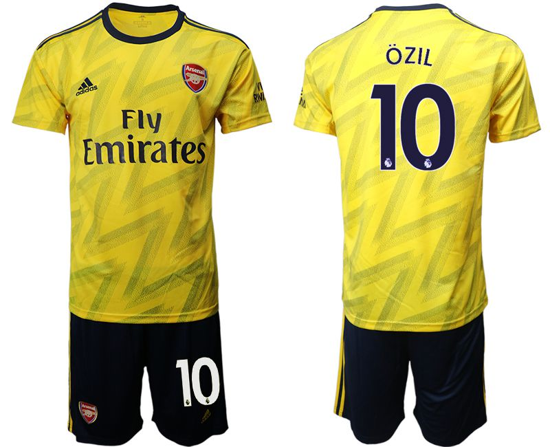 Men 2019-2020 club Arsenal away 10 yellow Soccer Jerseys