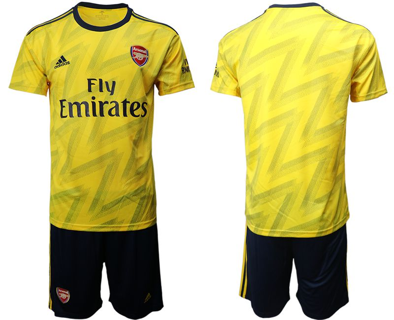Men 2019-2020 club Arsenal away yellow Soccer Jerseys