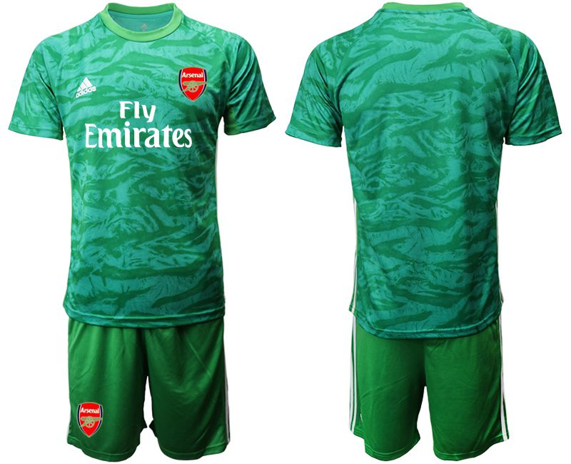 Men 2019-2020 club Arsenal green goalkeeper Soccer Jerseys