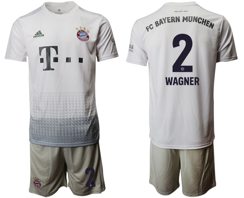Men 2019-2020 club Bayern Munich away 2 grey Soccer Jerseys