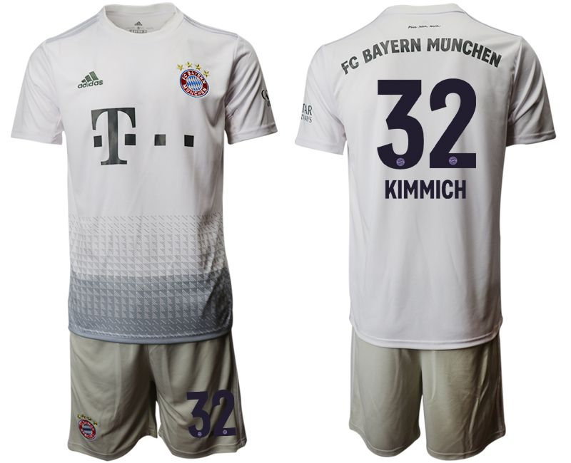 Men 2019-2020 club Bayern Munich away 32 grey Soccer Jerseys
