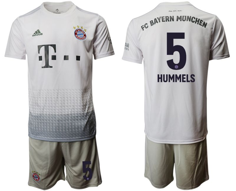 Men 2019-2020 club Bayern Munich away 5 grey Soccer Jerseys