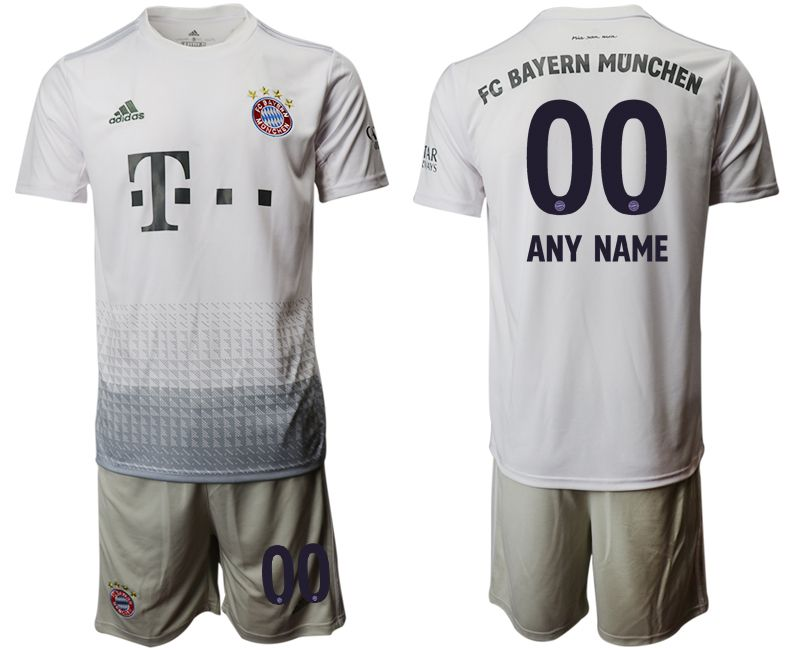 Men 2019-2020 club Bayern Munich away customized grey Soccer Jerseys