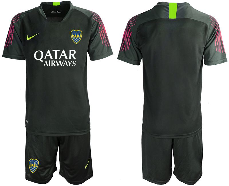Men 2019-2020 club Boca Juniors black goalkeeper Soccer Jerseys