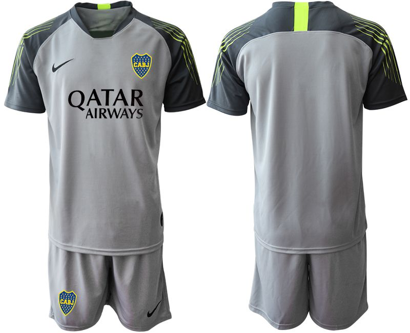 Men 2019-2020 club Boca Juniors gray goalkeeper Soccer Jerseys