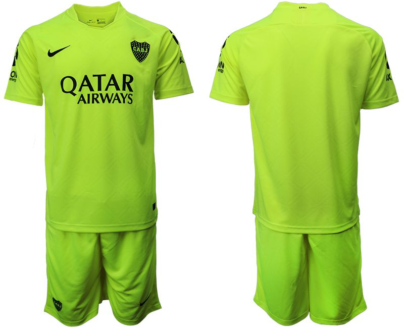 Men 2019-2020 club Boca juniors away green Soccer Jerseys