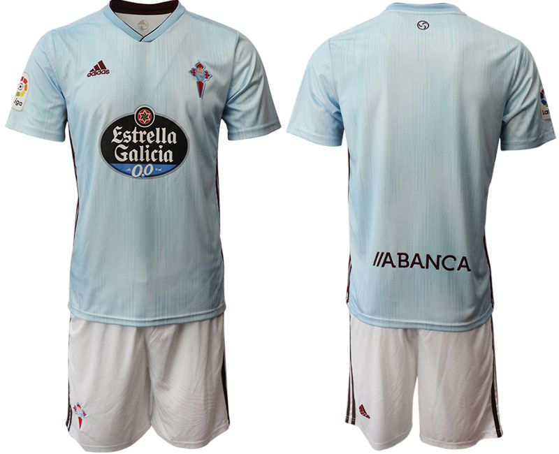 Men 2019-2020 club Celta de Vigo home blue Soccer Jerseys