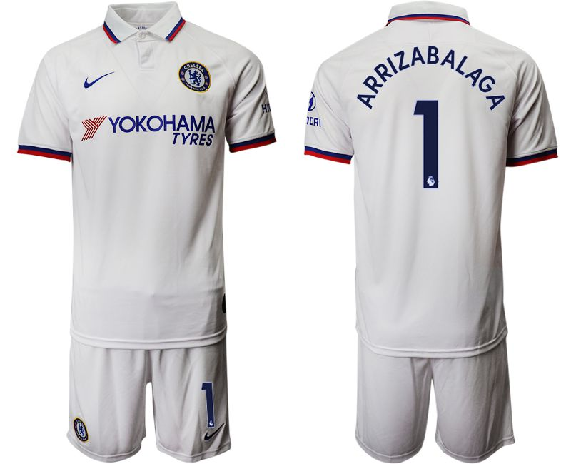 Men 2019-2020 club Chelsea away 1 white Soccer Jerseys