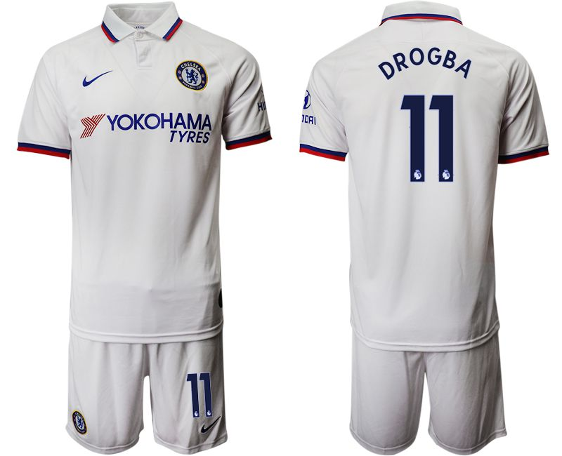 Men 2019-2020 club Chelsea away 11 white Soccer Jerseys1
