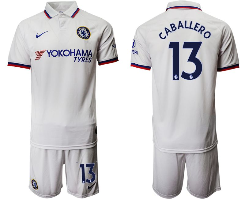 Men 2019-2020 club Chelsea away 13 white Soccer Jerseys
