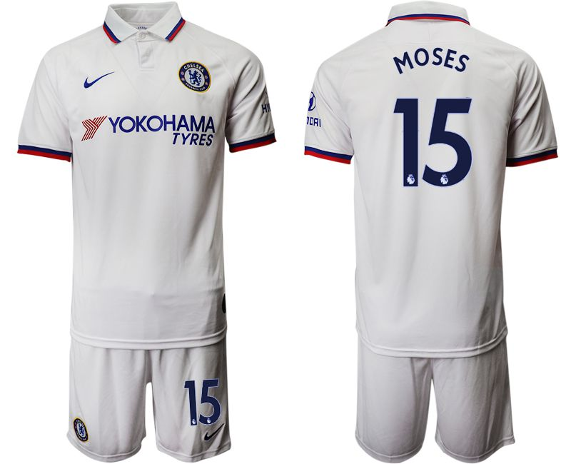 Men 2019-2020 club Chelsea away 15 white Soccer Jerseys