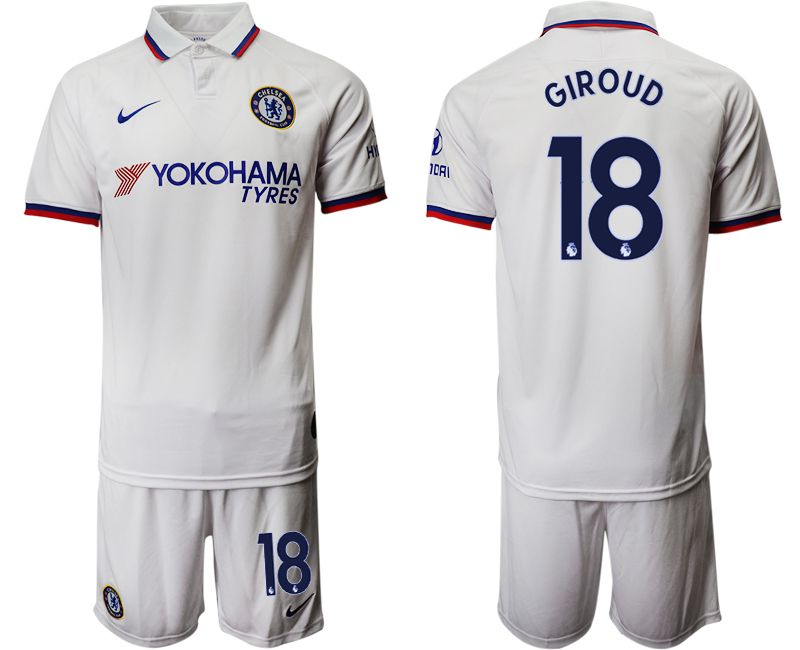 Men 2019-2020 club Chelsea away 18 white Soccer Jerseys