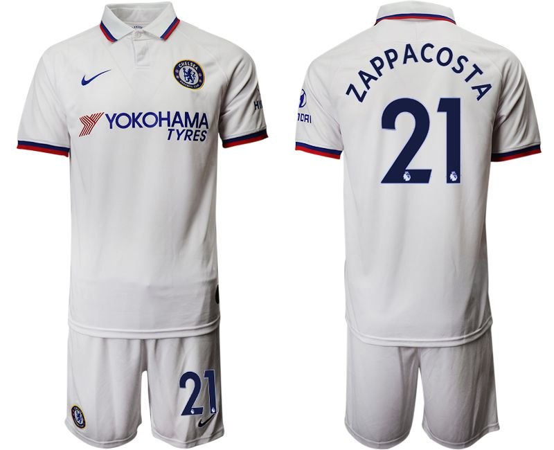 Men 2019-2020 club Chelsea away 21 white Soccer Jerseys