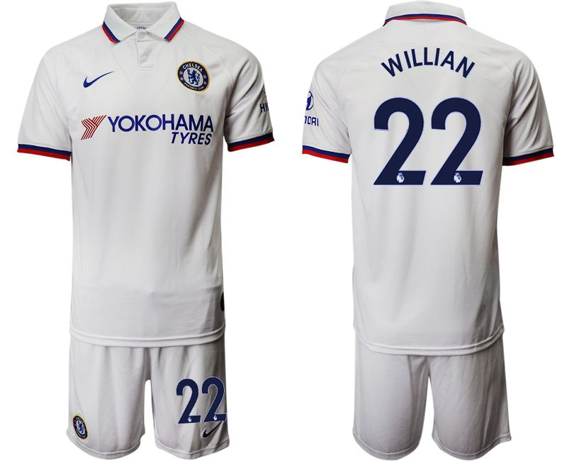 Men 2019-2020 club Chelsea away 22 white Soccer Jerseys