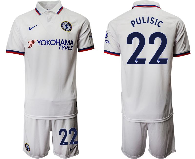 Men 2019-2020 club Chelsea away 22 white Soccer Jerseys1