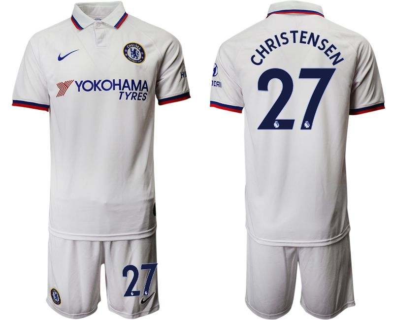 Men 2019-2020 club Chelsea away 27 white Soccer Jerseys