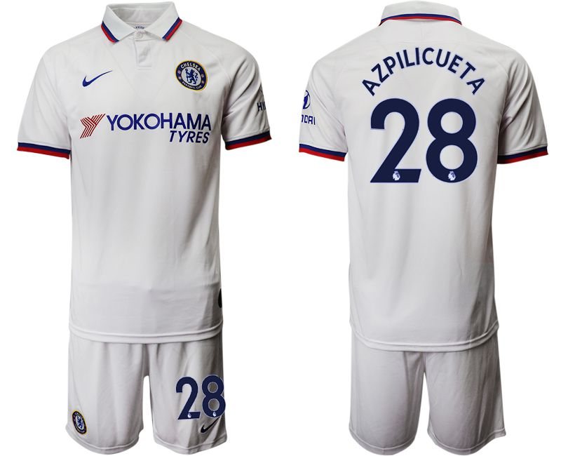 Men 2019-2020 club Chelsea away 28 white Soccer Jerseys