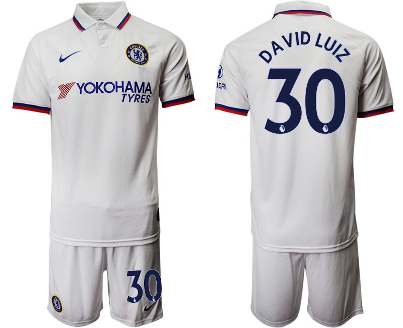 Men 2019-2020 club Chelsea away 30 white Soccer Jerseys