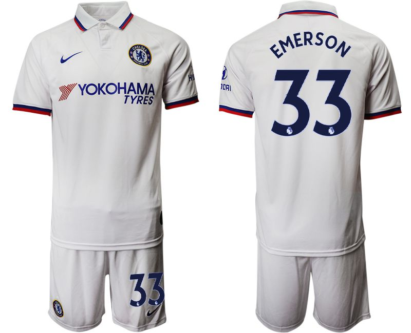 Men 2019-2020 club Chelsea away 33 white Soccer Jerseys