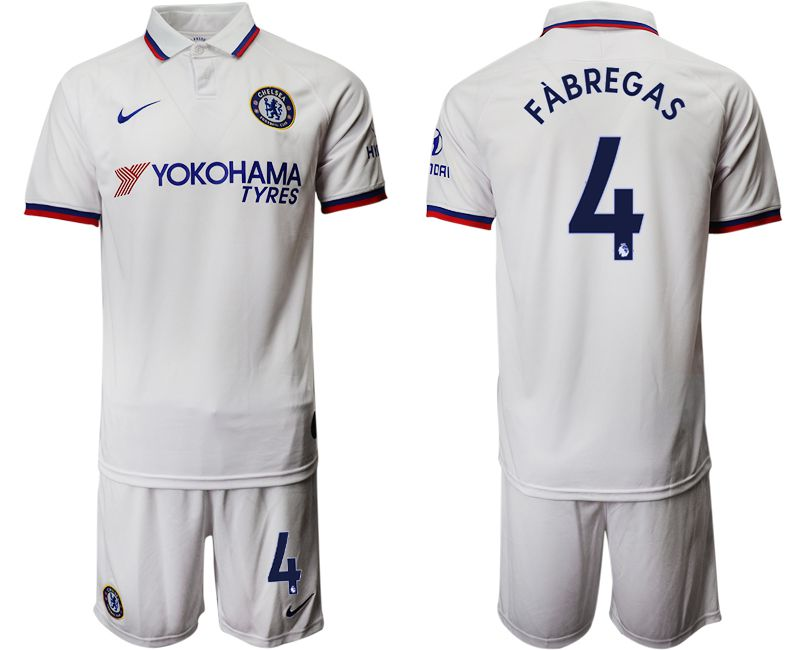 Men 2019-2020 club Chelsea away 4 white Soccer Jerseys