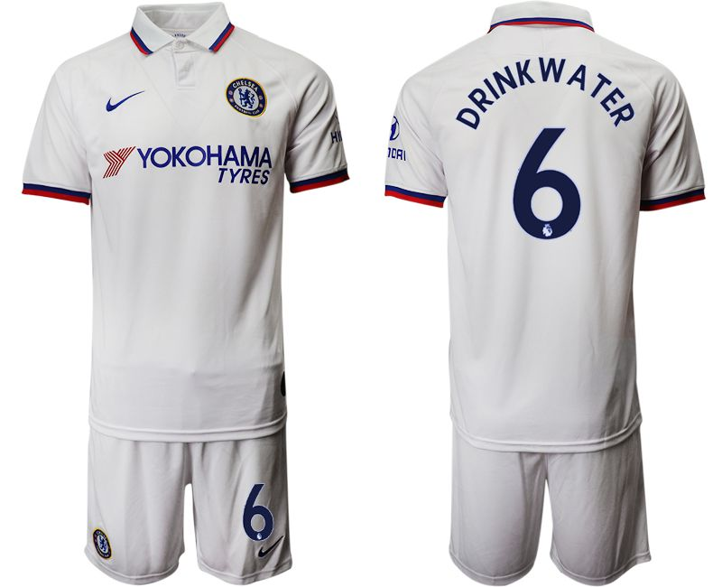 Men 2019-2020 club Chelsea away 6 white Soccer Jerseys