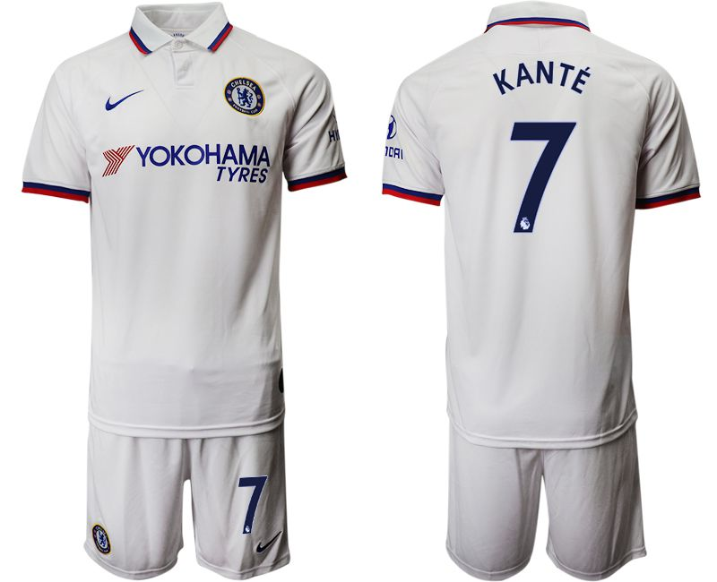 Men 2019-2020 club Chelsea away 7 white Soccer Jerseys