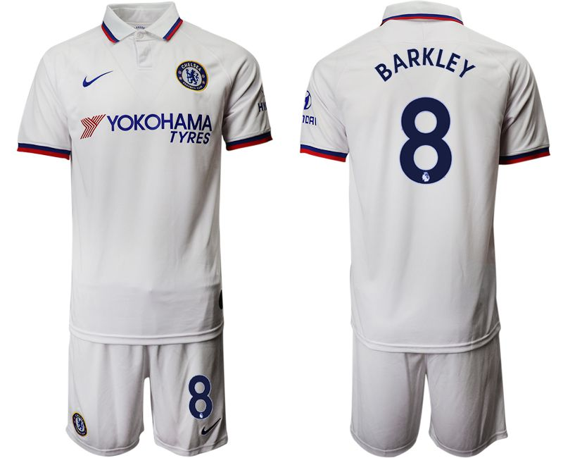 Men 2019-2020 club Chelsea away 8 white Soccer Jerseys