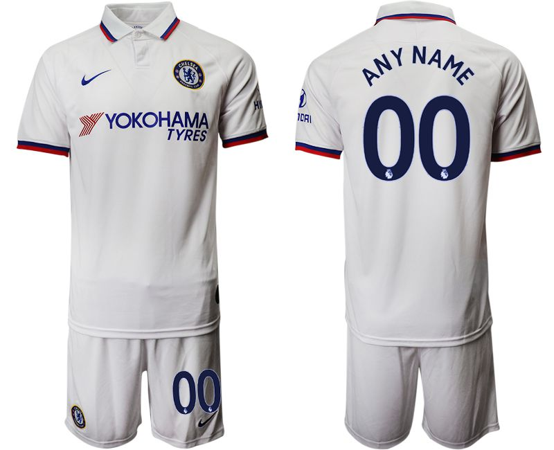 Men 2019-2020 club Chelsea away customized white Soccer Jerseys