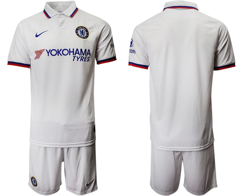 Men 2019-2020 club Chelsea away white Soccer Jerseys