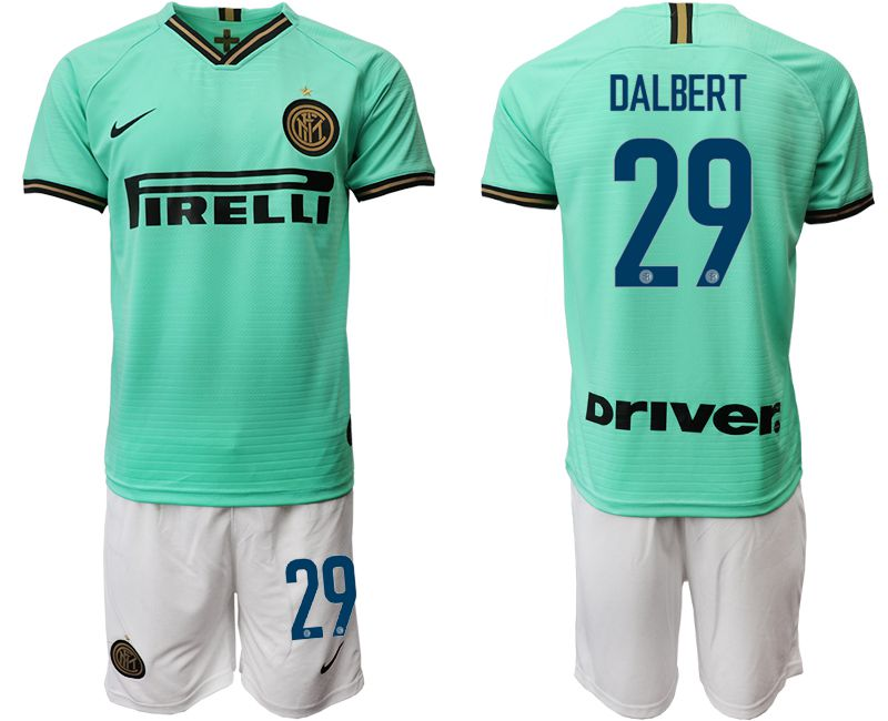 Men 2019-2020 club Inter Milan away 29 green Soccer Jerseys