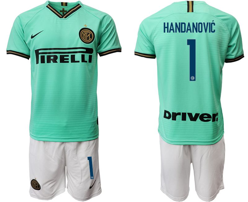 Men 2019-2020 club Internazionale Milano away 1 green Soccer Jerseys