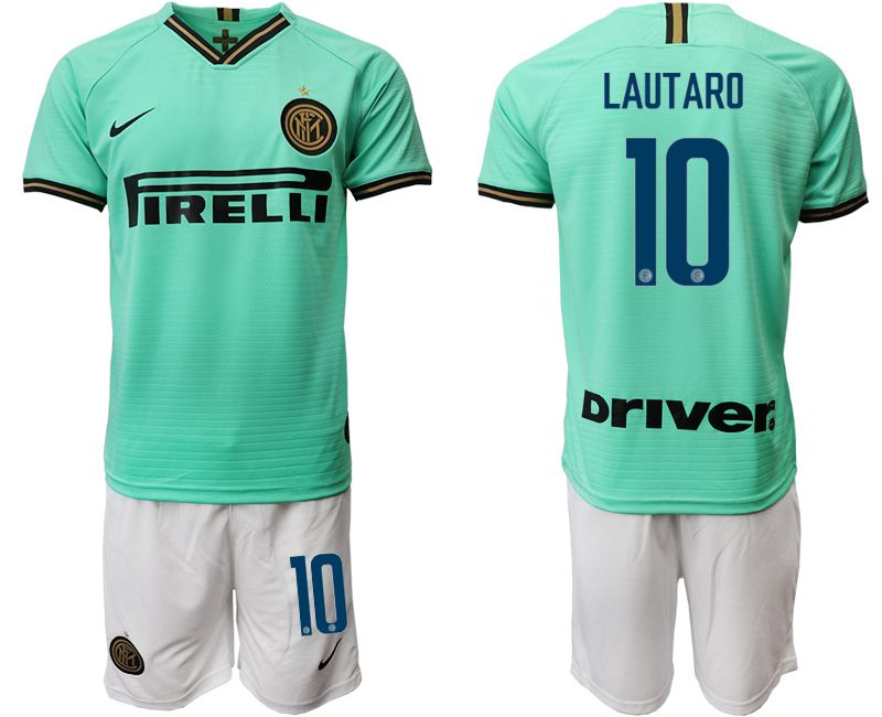 Men 2019-2020 club Internazionale Milano away 10 green Soccer Jerseys