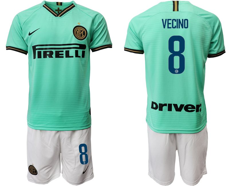 Men 2019-2020 club Internazionale Milano away 8 green Soccer Jerseys