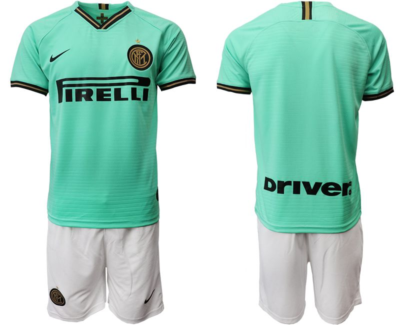 Men 2019-2020 club Internazionale Milano away green Soccer Jerseys