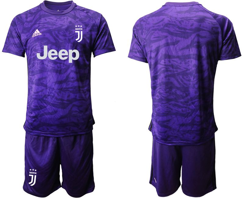 Men 2019-2020 club Juventus purple goalkeeper Soccer Jerseys