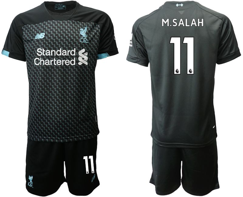 Men 2019-2020 club Liverpool Second away 11 black Soccer Jerseys