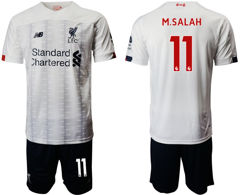 Men 2019-2020 club Liverpool away 11 white Soccer Jerseys