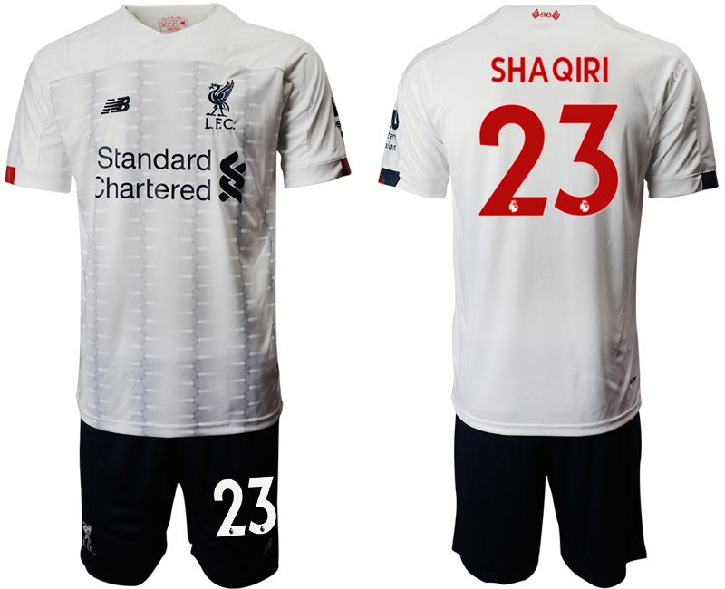 Men 2019-2020 club Liverpool away 23 white Soccer Jerseys