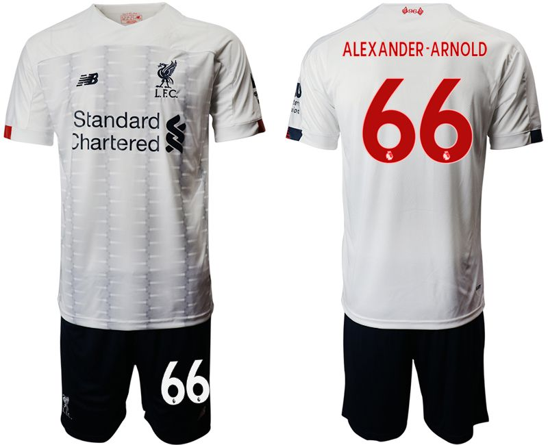Men 2019-2020 club Liverpool away 66 white Soccer Jerseys