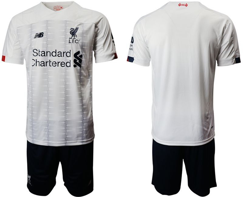 Men 2019-2020 club Liverpool away white Soccer Jerseys