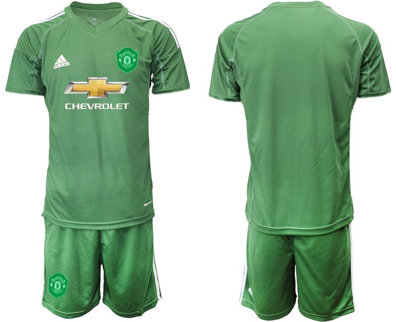 Men 2019-2020 club Manchester United army green goalkeeper