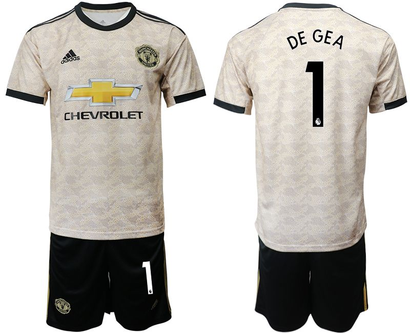 Men 2019-2020 club Manchester united away 1 grey Soccer Jerseys